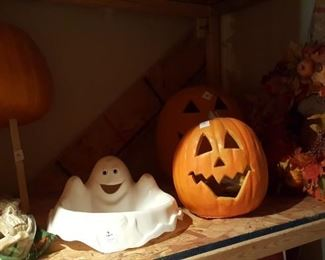 Various Halloween decoration