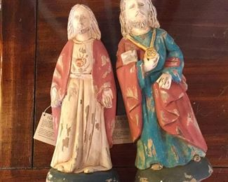 Flat Back decorative Saints