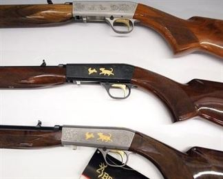 High Grade Browning  .22 Rifles
