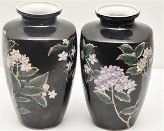 1. Pair of Chinese Vases