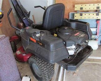 Craftsmen power motor riding lawn mower