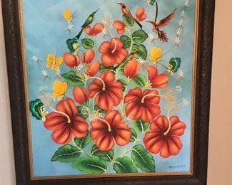 Aland Estime Haitian Oil Painting