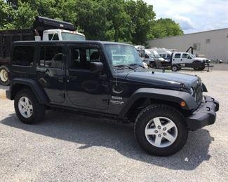 2017 Jeep Wrangler - Bankruptcy Asset
