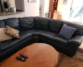 Nicoletti Italian Leather sectional