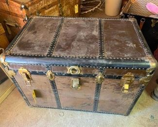 Vintage Steamer Trunk