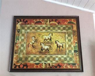Lee Reynolds horse art