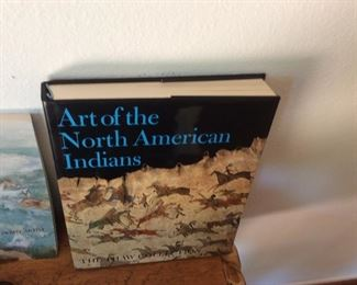 Book, art of North American Indians