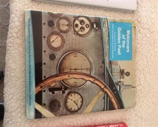 Motor cars of the Golden past book