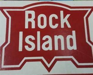 Rock Island Sign