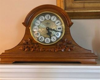 cool bell-curve mantle clock