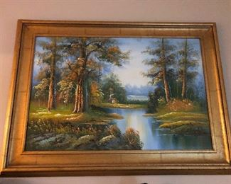 painting of narnia