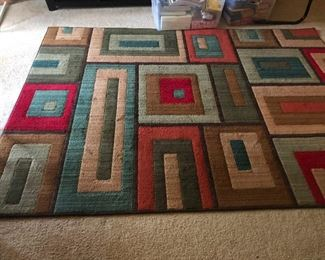 Mondrian style area rug you need this