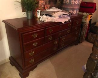dresser with brass nipples