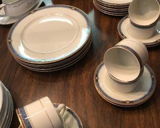 super fine Mikasa china will impress your guests!