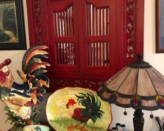 ROOSTER serving plates, plates and bowls you need this!