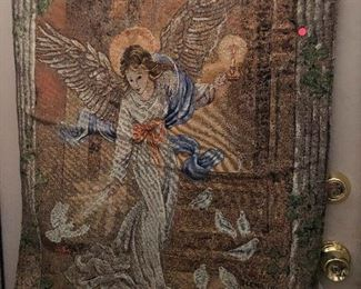 tapestry with wings