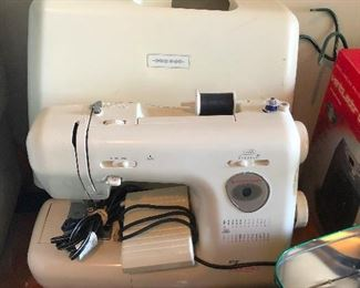 That is an awesome sewing machine