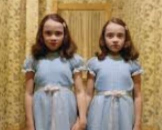 don't make eye contact (The Shining twins not for sale)