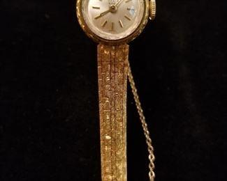 18K Gold Watch
