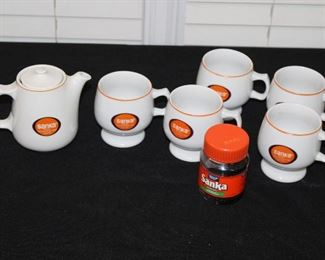 Sanka coffee set
