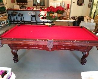 Regulation Size OLHAUSEN Pool 8' Table