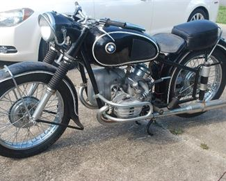 1953 BMW Motorcycle