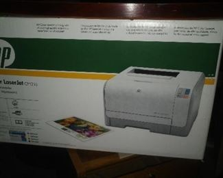 Laser color printer.