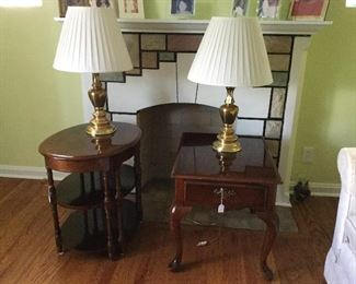 Lamps and End Tables