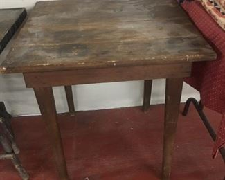 Primitive Two Board Table