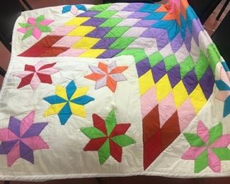Eight Pointed Star Quilt