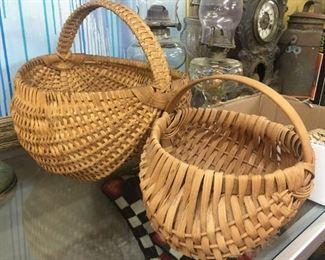 Oak Butt Baskets