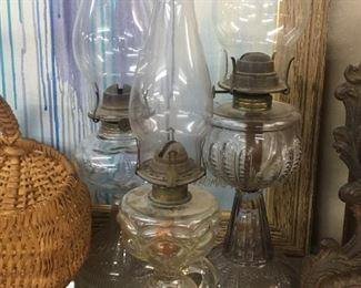 Old Oil/Finger Lamps