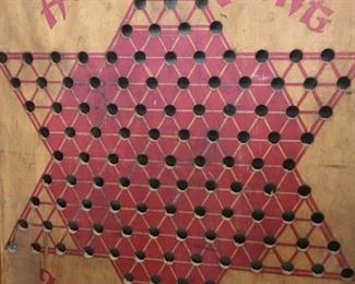 Wooden Hop Ching Chinese Checker Board