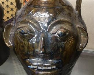 Walter Fleming Double Face Jug