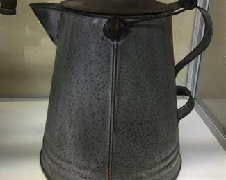 Old Graniteware Coffee Pot