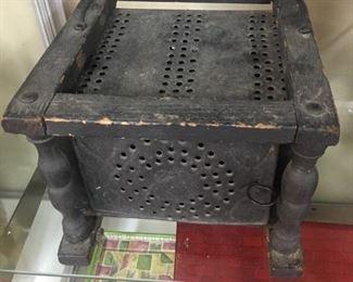 Antique Biscuit Container