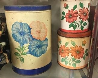 Kitchen Tins/Canisters