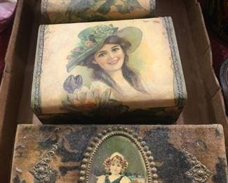 Victorian Dresser Boxes