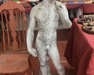 Large Cement Figural Statuary