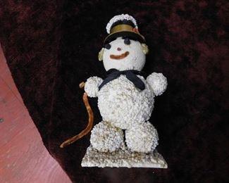 Vintage Snowman Figure(Made in Japan)