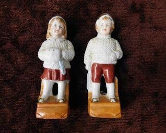 German Snow Boy and Girl