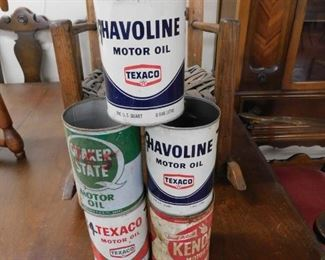 Metal Oil Cans