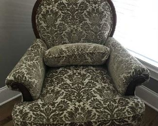 Man Upholstered Chair