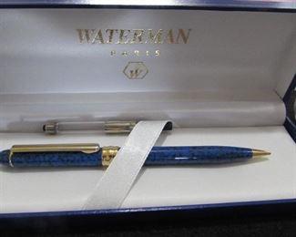 Waterman ballpoint pen in box.