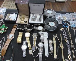 Very good collection of watches, some new still in boxes.