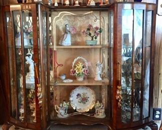 One of many English display cabinets