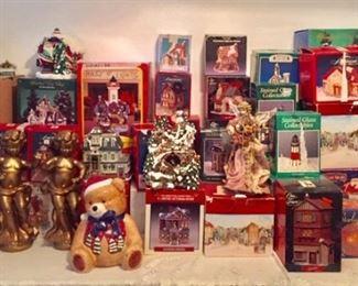 Entire Christmas Room