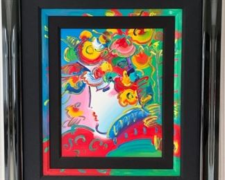 41. Blushing Beauty by Peter Max