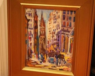 NYC? oil painting