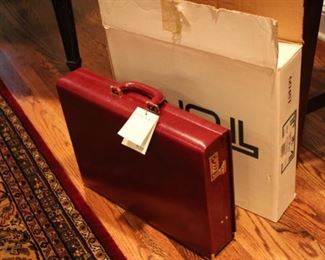 Tumi new briefcase